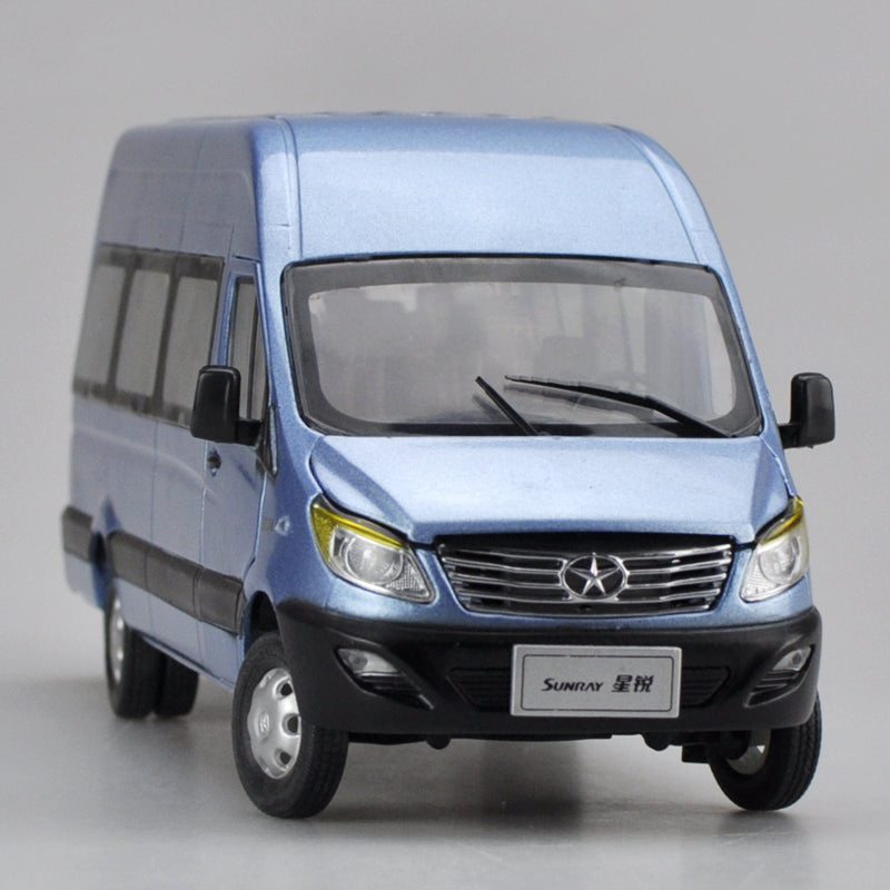 1:24 Scale JAC SUNRAY Multifunctional commercial vehicle Diecast Model with small gift