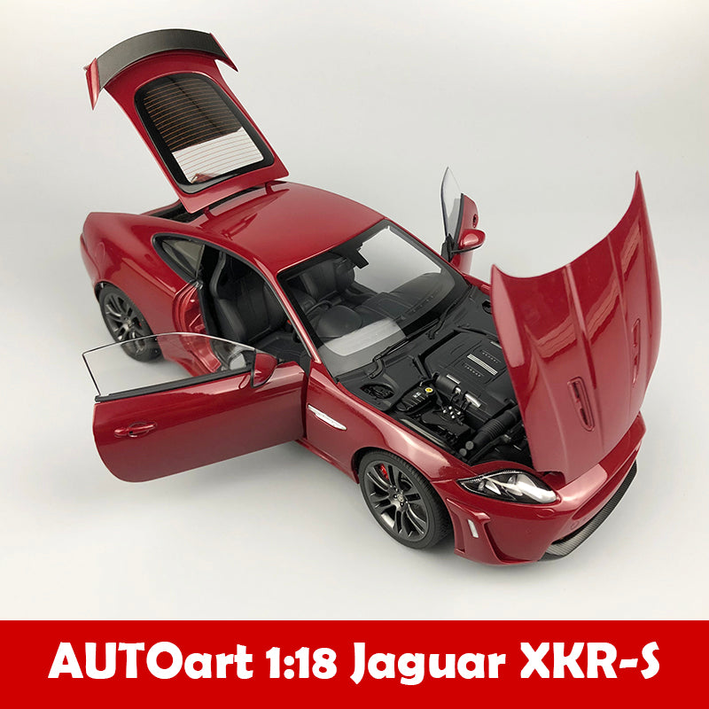 Autoart 1/18 Jaguar Xkr-s French Racing Blue diecast car model