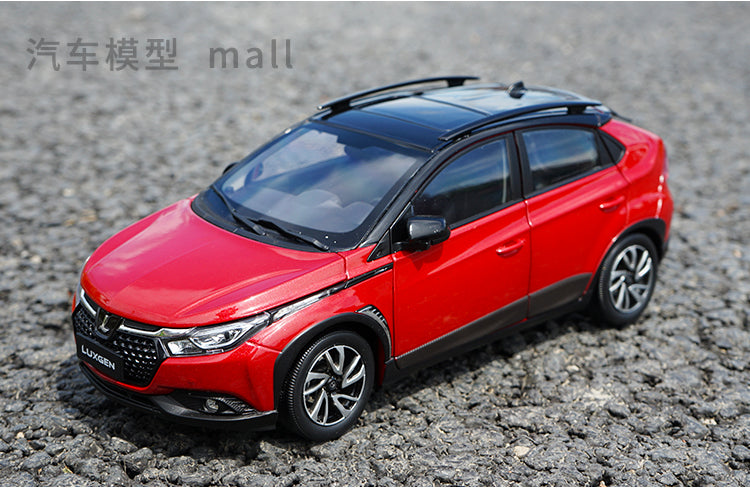 1:18 Dealer Edition 2019 Luxgen U5 SUV Diecast Model with small gift