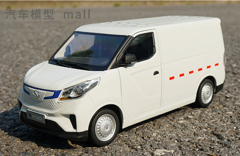 Hot sale heavy 1:18 SAIC MAXUS EV30 pure electric commercial vehicle scale model transport vehicle alloy toy car model