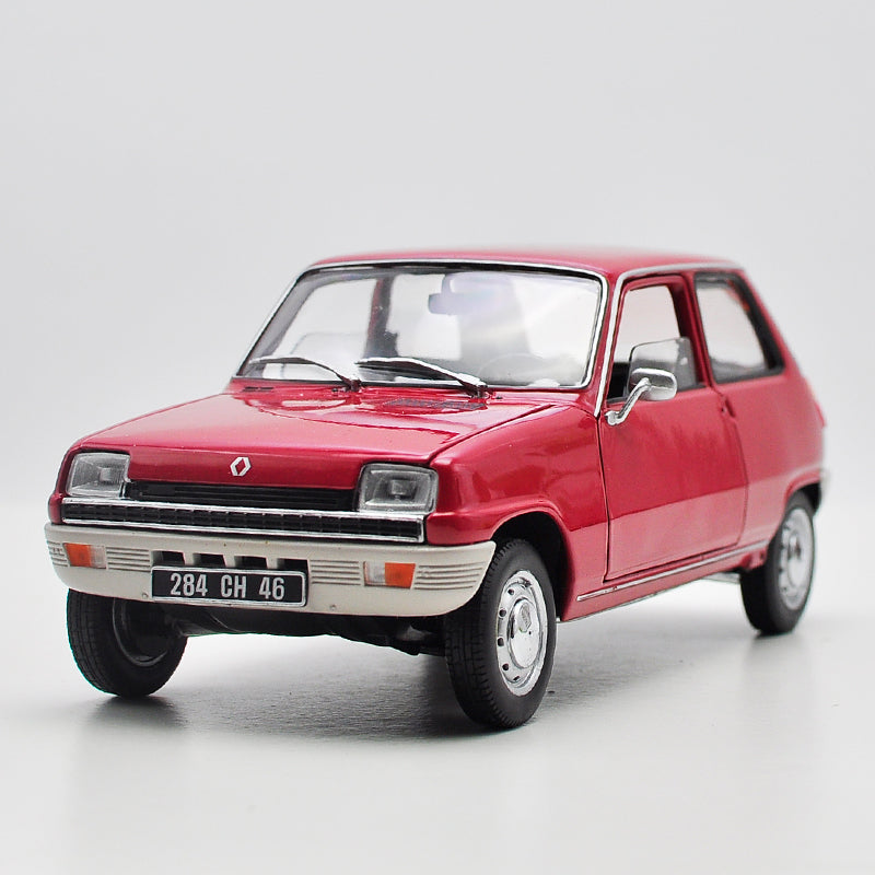 Alloy vehicle toy for 1:18 NOREV Renault 5 Alpine Renault 1976 simulated alloy car model