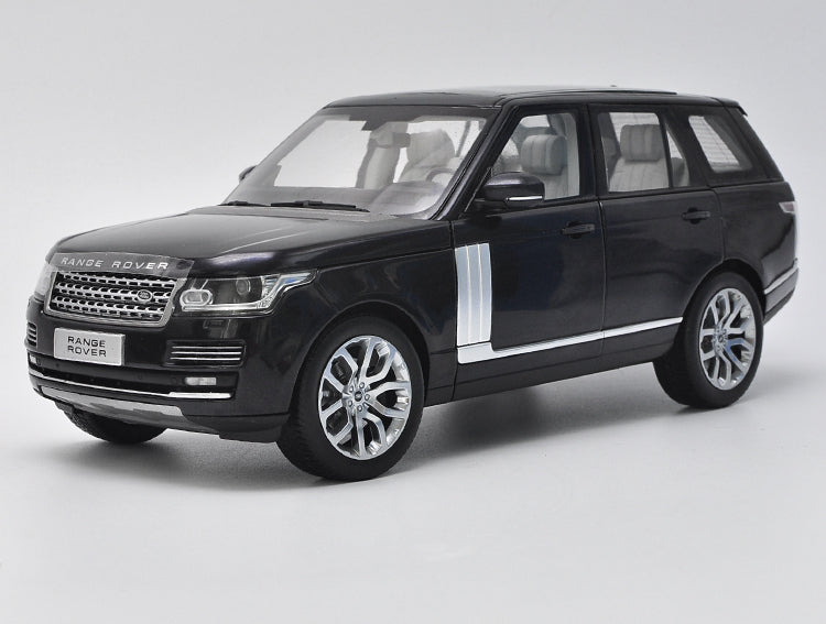 Original Authorized Authentic 1:18 Scale Diecast LCD Model Car Land Rover Range Rover SUV Metal Classic Toy Car Miniature for christmas/Birthday gift, collection