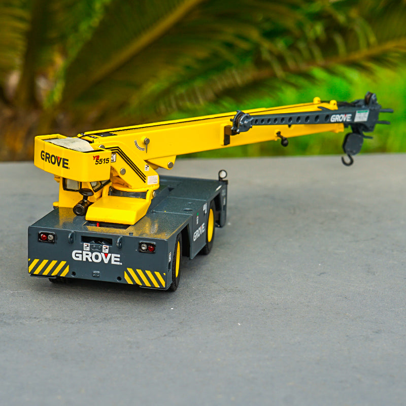 TWH 1/50 Alloy engineering machinery model Grove diecast crane replica