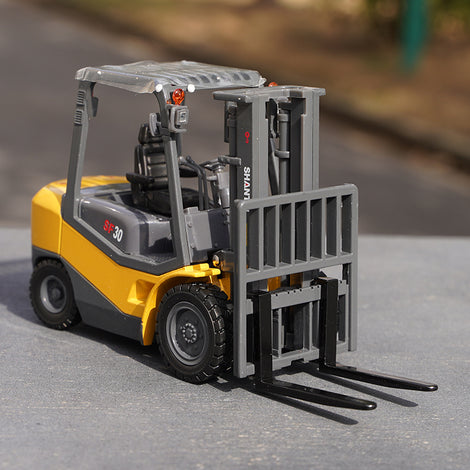 Original factory 1:25 Shantui SF30 Diecast Forklift model Construction machinery scale miniature model for gift