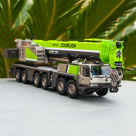 1:50 high quality Diecast Zoomlion QAY220 Truck crane models