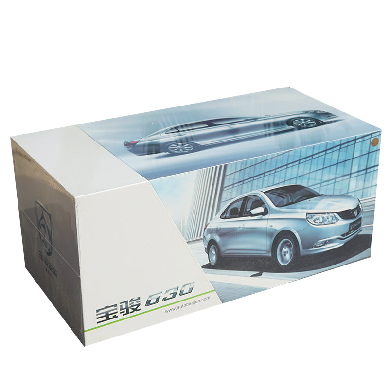 Origial factory 2011 Baojun 630 1:18 Scale Diecast Model with small gift