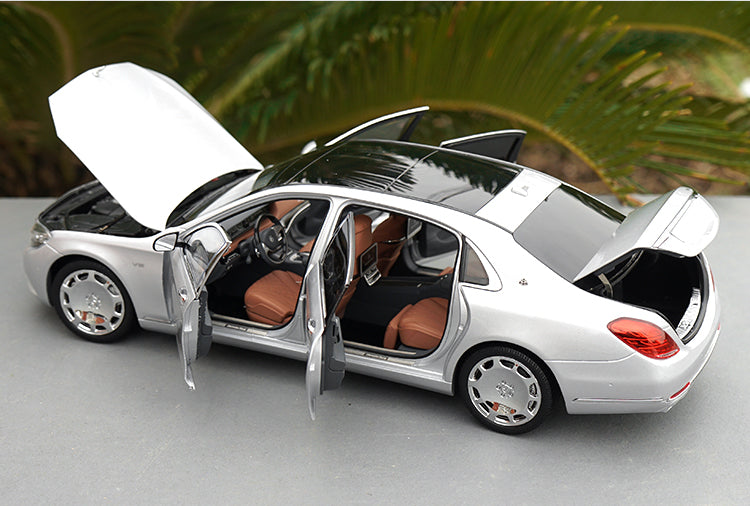Original 1:18 Almost Real AR Mercedes-Benz Maybach S-Class S600 Diecast Model Car with small gift