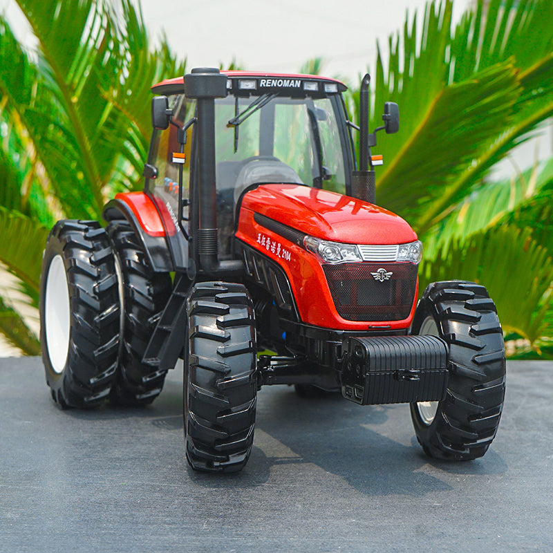 Original 1:18 Wuzheng RENOMAN 2104 Construction machinery model large tractor model with small gift