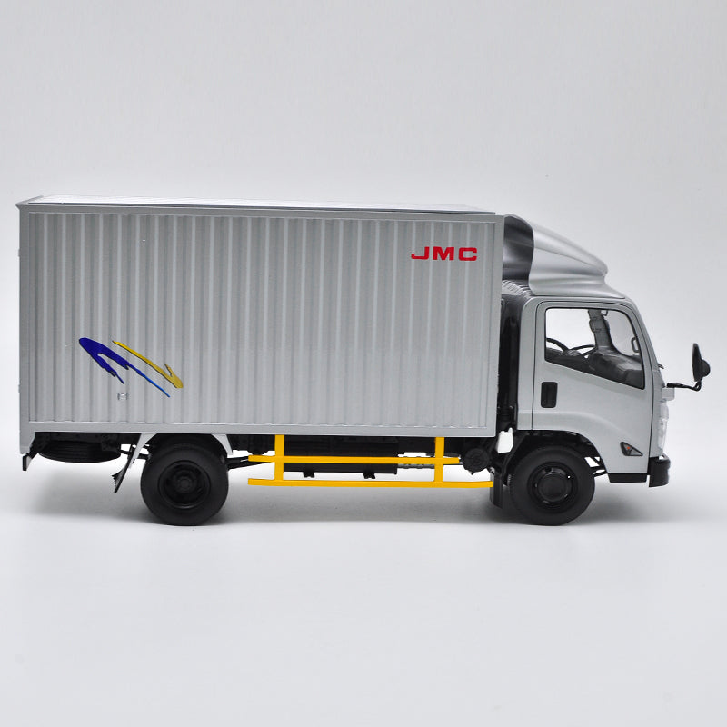 Original Authorized Authentic 1/18 Jmc Kairui N800 Pick up Truck Diecast Model Car Silver pick up toy truck Model for Christmas gift