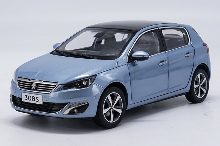 Original Authorized Authentic 1:18 Peugeot 308S 2015 Hatchback Alloy Diecast Metal Car Model classic Toys car model for gift