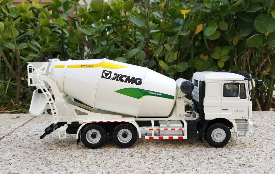 1:35 Scale XCMG Hanvan Schwing Concrete Mixer Truck construction machinery diecast model