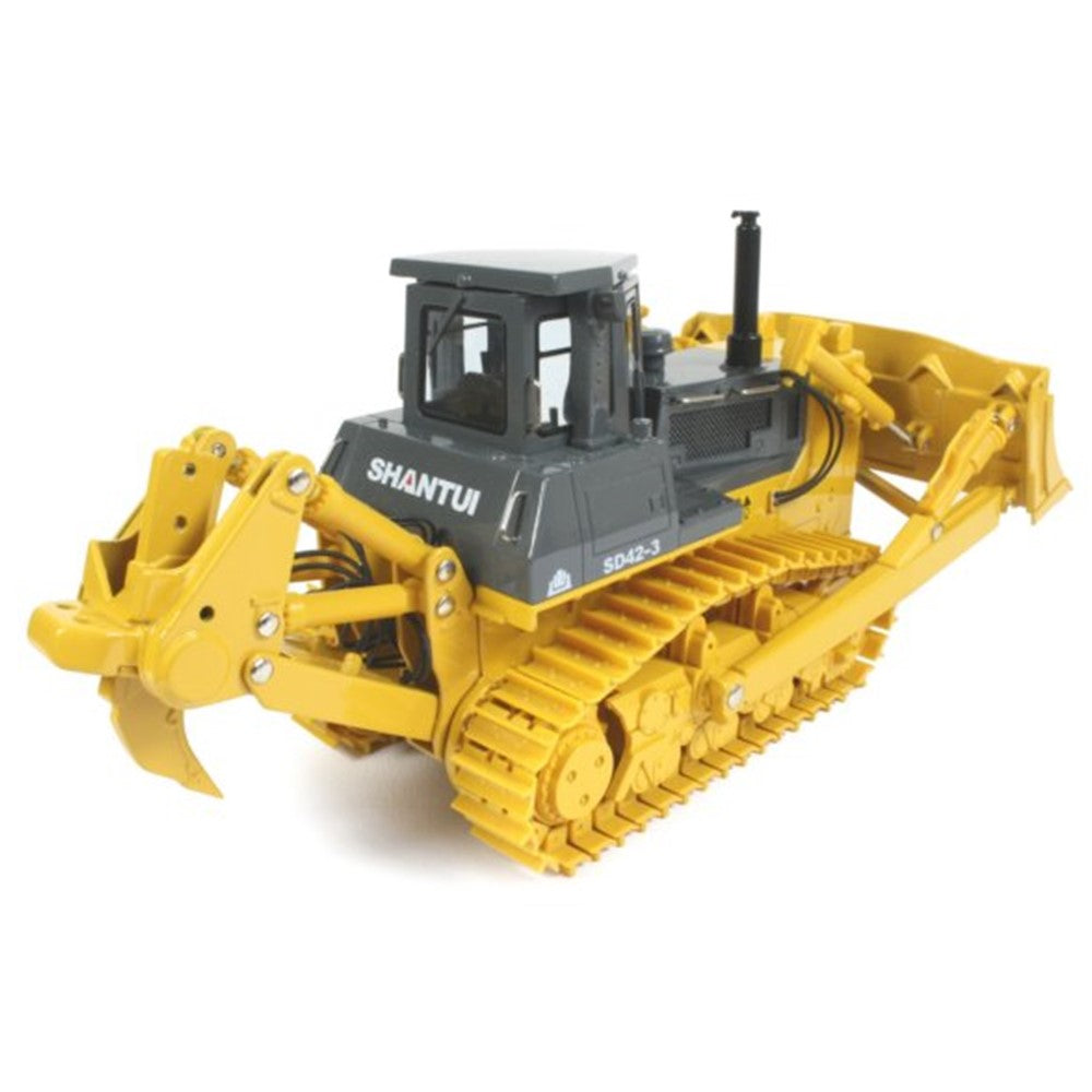 Original Authorized Authentic 1/43 scale Shantui SD42-3 BULLDOZER die cast model bulldozer toy metal Model for Christmas gift,collection