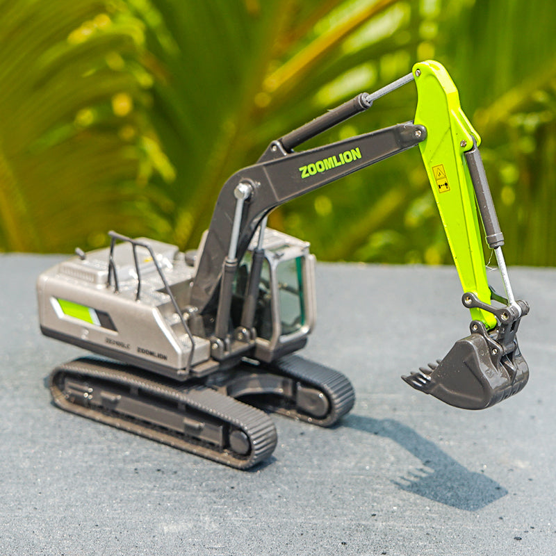 Original Authorized Authentic Diecast 1:87 ZOOMLION ZE210 excavator model Diecast toy Model Excavator for Christmas gift,collection