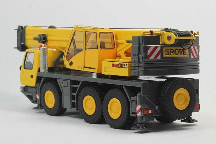Original Authorized Authentic Rare Alloy Model Gift TWH 1:50 Scale Grove GMK3055 Crane Truck Engineering Vehicles Diecast Toy Model For Collection,Decoration