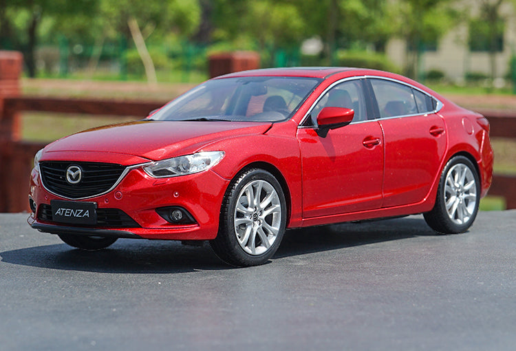 Original Authorized factory diecast 1:18 Diecast Mazda 6 Atenza Classic toy car Models for gift, collection