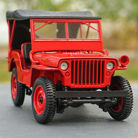Original exquisit 1:18 diecast Willys 1924 car model for collection, gift, toy