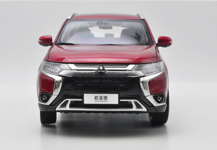 Original exquisite diecast 2017 version 1:18 GAC mitsubishi New Outlander SUV car model for collection, gift