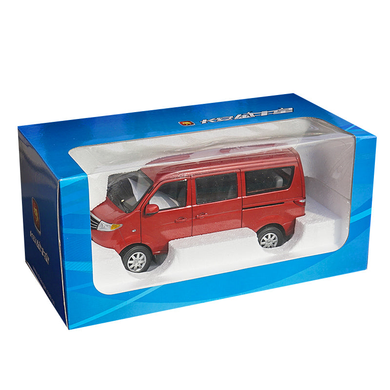 Original factory 1/18 Changan Automobile original manufacturer,Changan Jinniuxing van car model with small gift