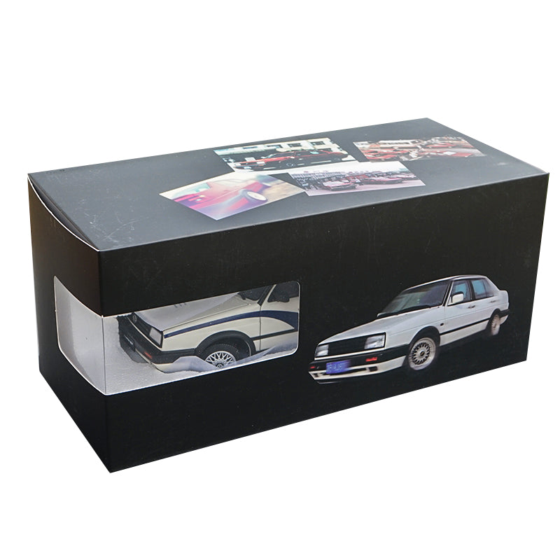 Original factory 1:18 Scale diecast VW Volkswagen JETTA GT MK2 car model with small gift