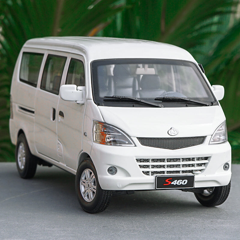 Original factory 2009 Changan S460 1:18 Scale Diecast white Van Model White with small gift