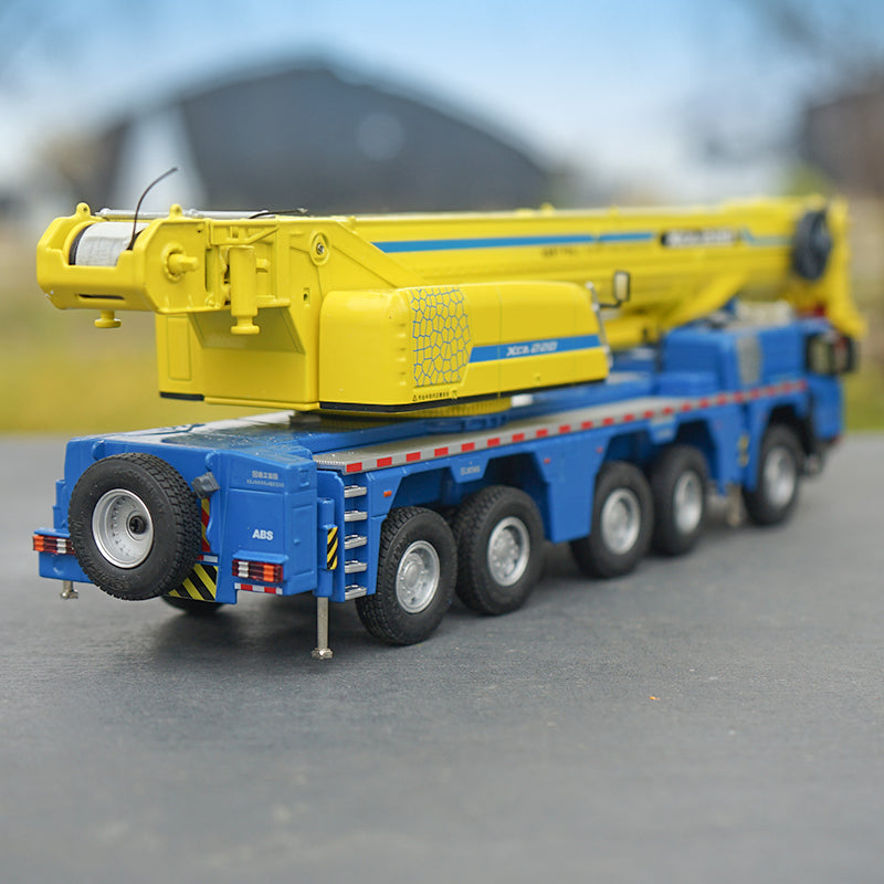 Original factory 2019 new 1:50 XCMG XCA220 truck crane models, Diecast construction engineering model for gift