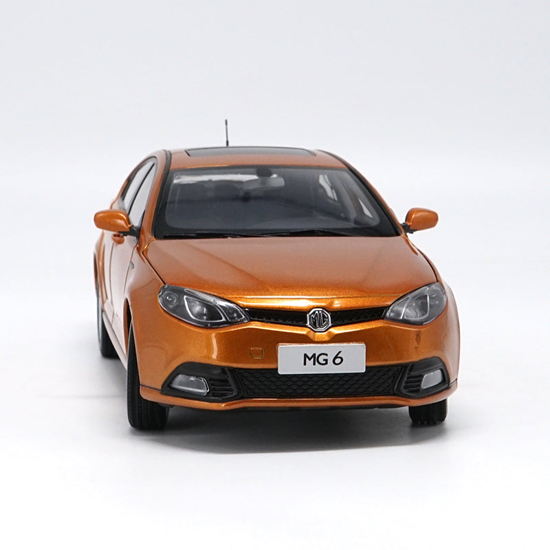 Original factory diecast 1:16 SAIC MG6 Expo version Diecast Metal Classic toy Car Models for Birthday/christmas gifts, collection
