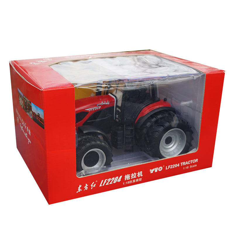 Original factory diecast 1:18 OYTO LF2204 farm tractor model with small gift