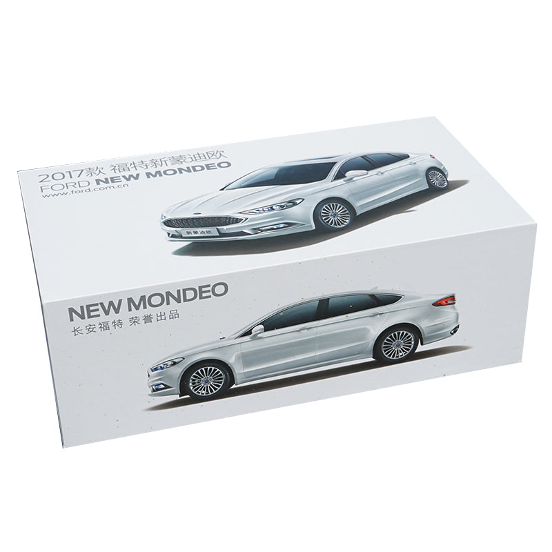 Original factory exquisite diecast 1:18 fort new Mondeo 2017 version car models for gift, collection