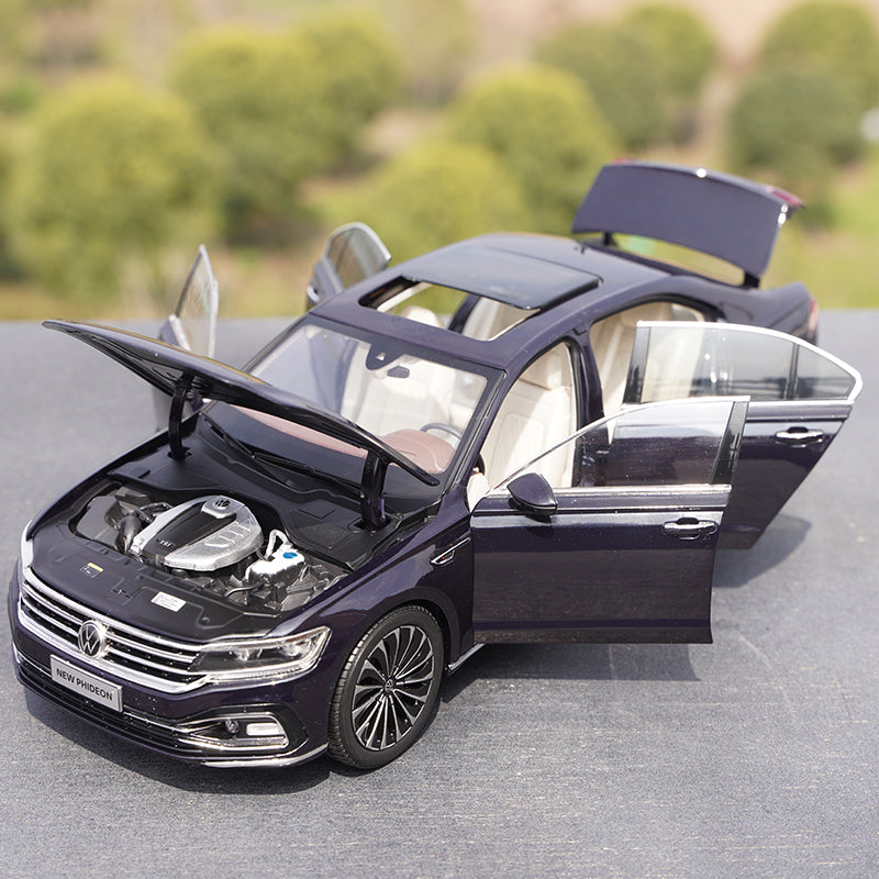 Details about  /1//18 Scale Volkswagen PHIDEON 2020 Blue Diecast Car Model Collection Toy Gift