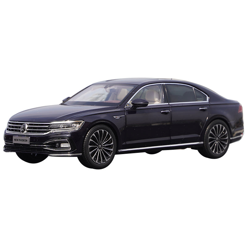 Original Authentic collectible 1:18 SAIC Volkswagen Faion Phideon 2021 brand new diecast sedan alloy car model for kids gift