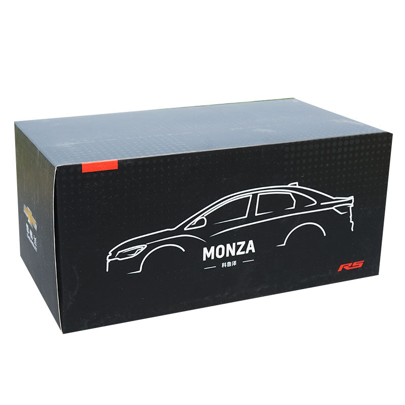 High quality authentic 1:18 Chevrolet Koruze RS MONZA Garlands version diecast car model with small gift