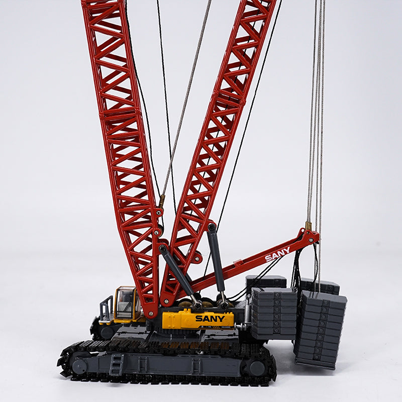 High classic 1:120 SANY SCC4000 Crawler Crane Tower Construction model, Diecast tower crane Models