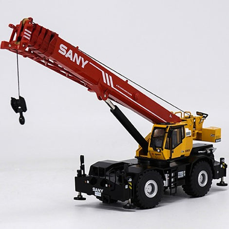 Original Authorized Authentic 1:50 SANY SRC550 Off-road Suspension Crane Mechanical Truck Diecast Model Toy Die Cast Collection Vehicle crane Toys for Christmas gift,collection