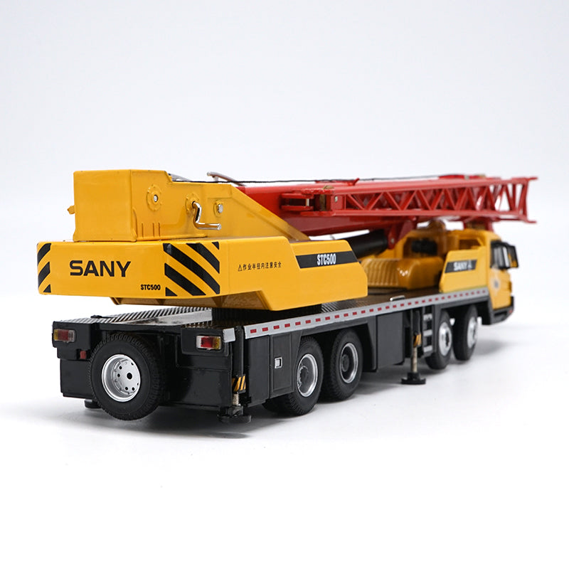 Original Authorized Authentic 1:43 SANY STC500 Truck Crane classic toy model for Christmas,collection