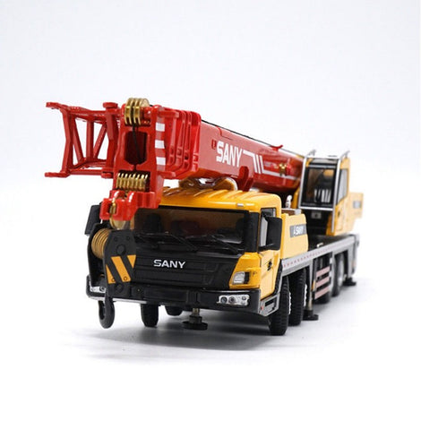 Diecast 1 43 Sany STC500 Crane Engineering mechanical truck model