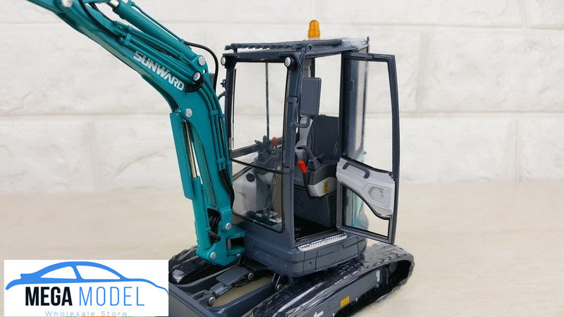 Original factory authentic SUNWARD 1:20 Diecast SWE25U excavator model for gift, collection