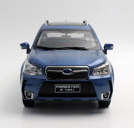 RARE ORINGINAL!!DIECAST Subaru Forester Suv Model In Scale 1 18 Blue