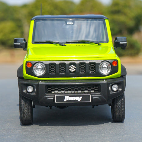 High quality classic authentic 1:18 LCD Suzuki Jimny Suzuki diecast scale OFF-road Blue/Green car miniature model for gift,collection
