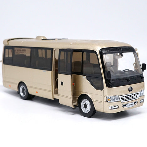1:32 Scale Diecast Bus Coach Models,yutong Luxury Bus t7 with small gift