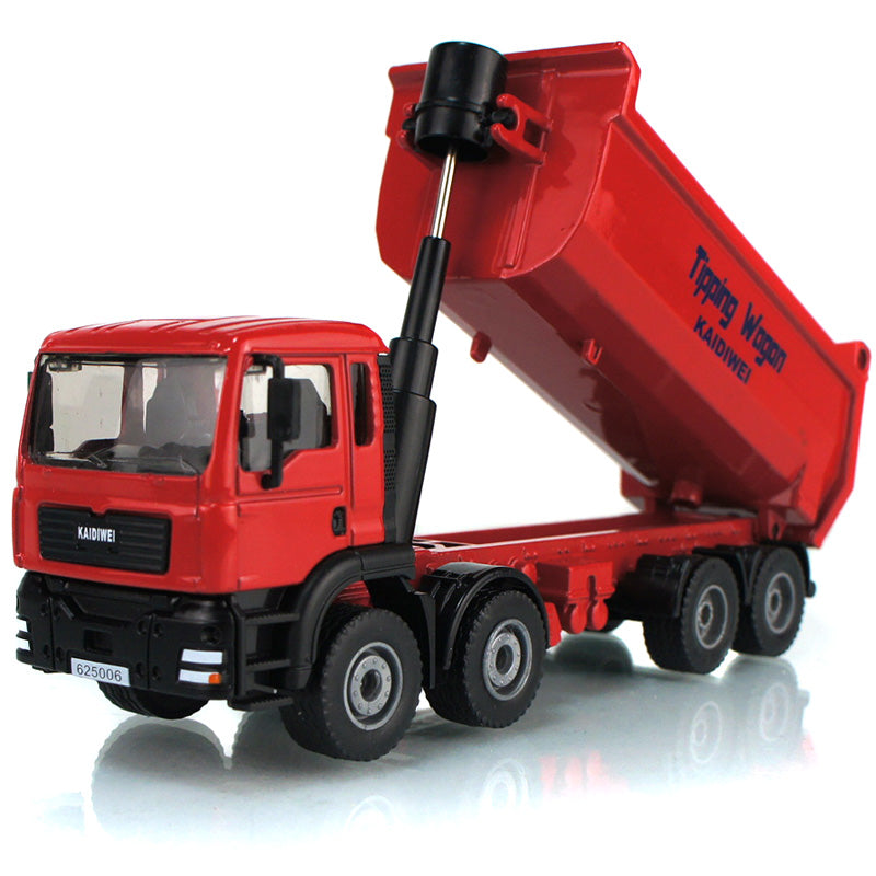 1:50 hot sale diecast toy dump truck models