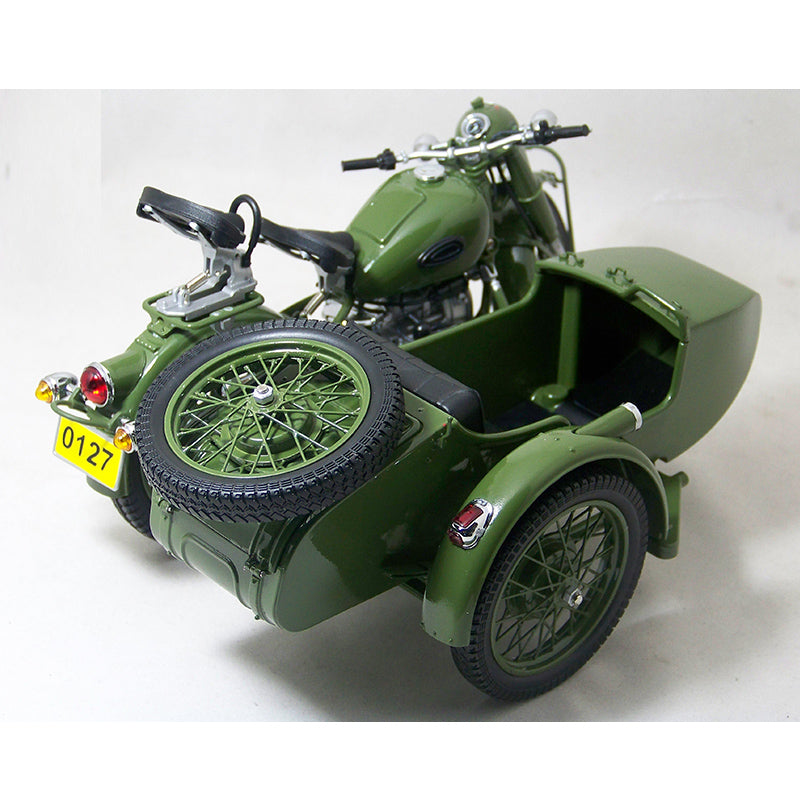 1:10 Changjiang 750 motorcycle , Three wheeled DIECAST motorcycle MODEL