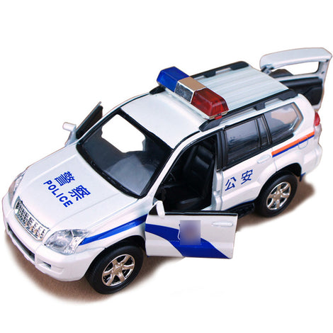die cast toy Police car model,  Police off-road vehicle lamborghini alloy simulation