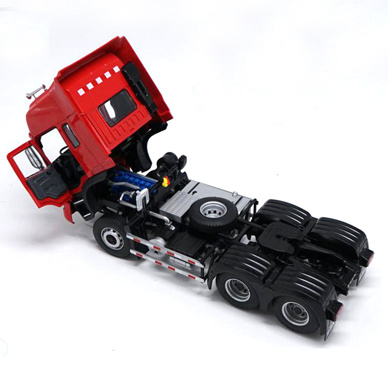 1:24 Scale Red Diecast gallop JAC K Series Tractor Scale model