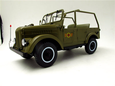 1:18 Diecast GAZ 69A Model Scale Army Green U.S.S.R. USSR SOVIET UNION GAZ69,DIECAST MODEL,RARE