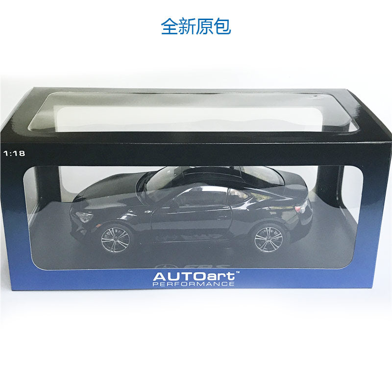 1:18 AUTOart Toyota Scion FR-S NORTH AMERICAN VERSION/LHD Metallic car model