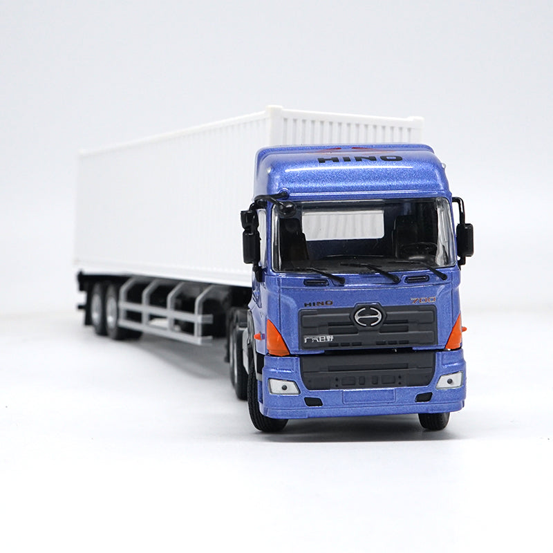 1:50 HINO Truck Tractor container scale model, diecast Container Truck Toy Model Collection,Gift