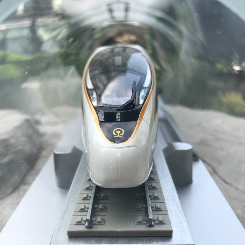 1:87 FUXING CR400AF  Renaissance Chinese Standard EMU G-series high-speed train model