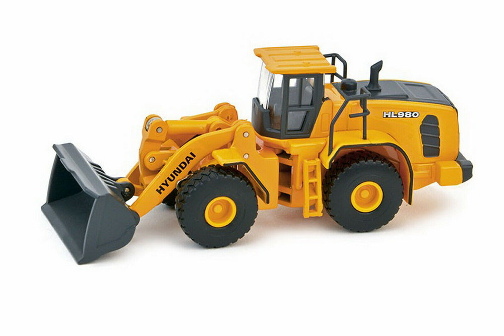 Top quality 1 87 Scale Hyundai HL 980 Wheel Loader Diecast Model