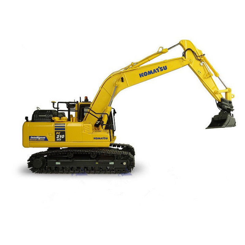 Original Authorized Authentic Diecast Uh8123 1:50 Komatsu Pc210lci-11 Excavator Diecast toy models for Christmas gift,collection