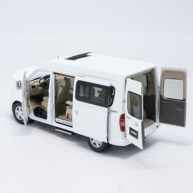 1/18 MAXUS V80 MPV DIECAST MODEL with small gift